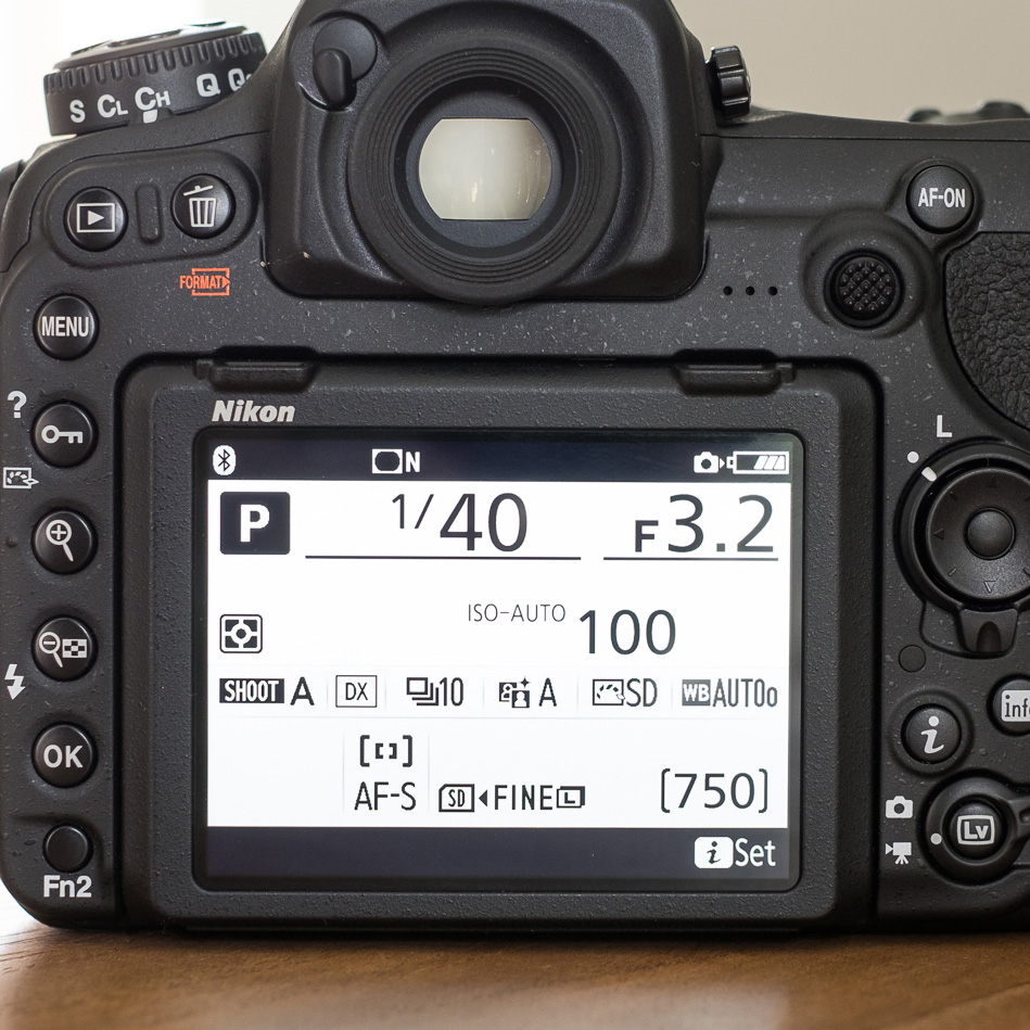 Camera Settings Aperture Shutter ISO WB