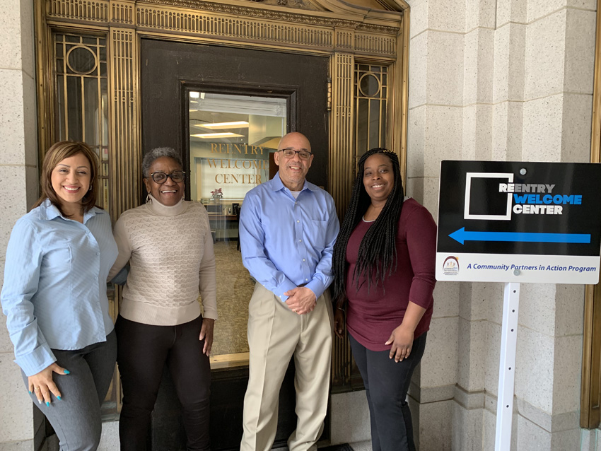 Reentry Welcome Center Staff
