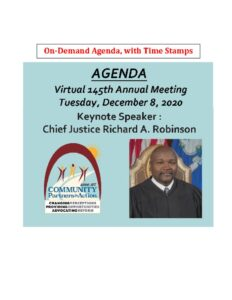 thumbnail of Agenda 145th Meeting of CPA – On-Demand