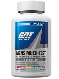 GAT Men's Multi Vitamin + Test