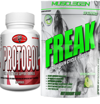 MuscleGen Freak & MedFit Rx Protocol Cycle Support Stack
