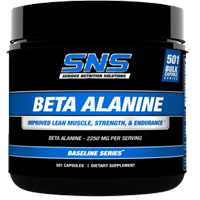 SNS (Serious Nutrition Solutions) Beta Alanine 501ct