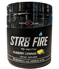 Black Label Nutrition Str8 Fire