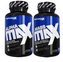 Performax Labs Mass Max and Alpha Max Stack