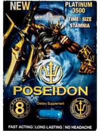 Poseidon Platinum 3500 Male Enhancement