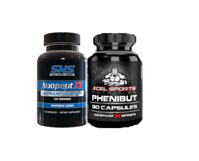 Phenibut and Noopept SNS (Serious Nutrition Solutions)