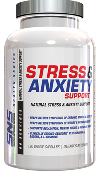 SNS (Serious Nutrition Solutions) Stress and Anxiety Support