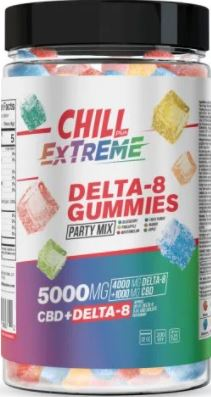 hill Plus CBD & Delta-8 (THC) Extreme Gummies – 5000X, 2000ct