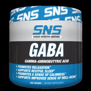 Serious Nutrition Solutions (SNS) GABA Powder