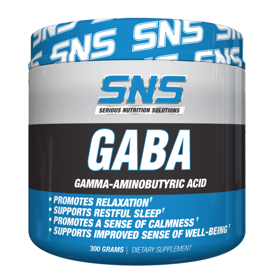 Serious Nutrition Solutions (SNS) GABA Powder
