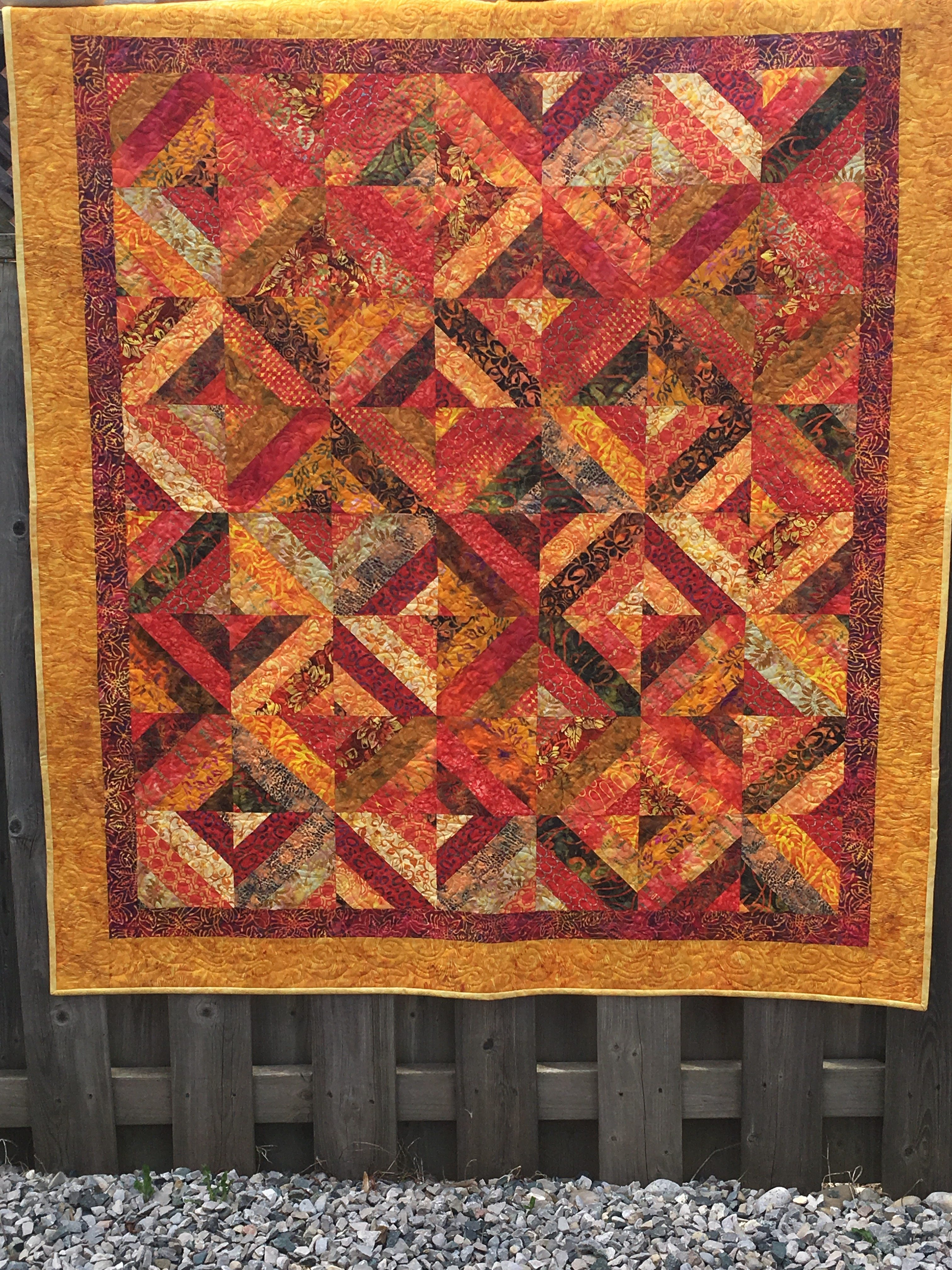 Fire Dragon Quilt