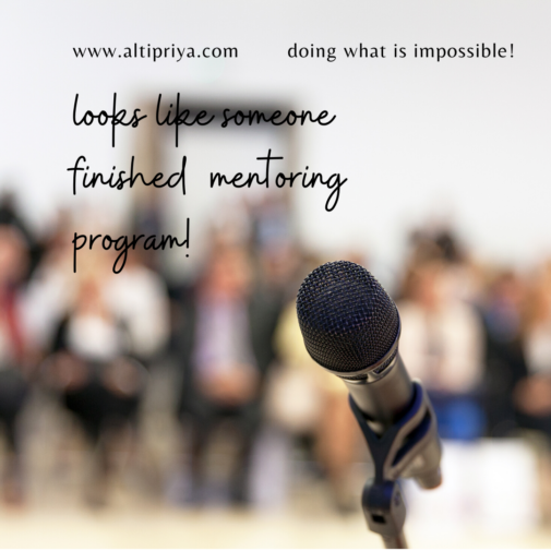 10: One on One Mentoring