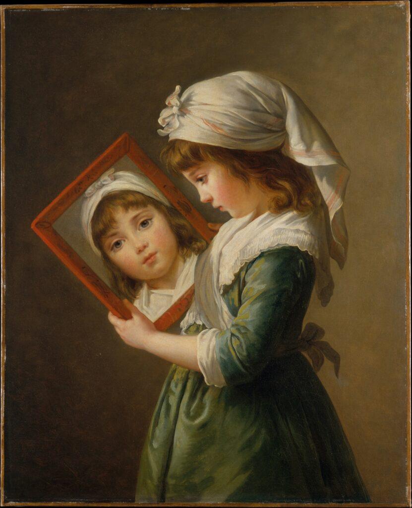 Elisabeth Louise Vigée Le Brun's Julie Le Brun