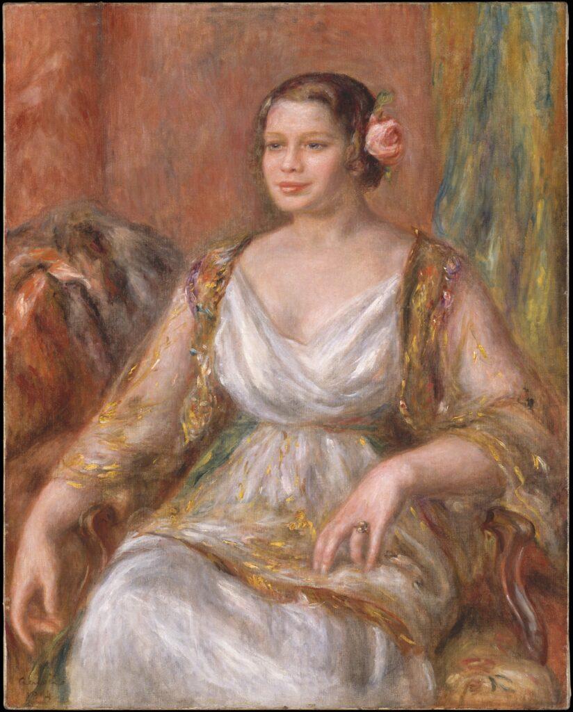Tilla Duriex, by Auguste Renoir