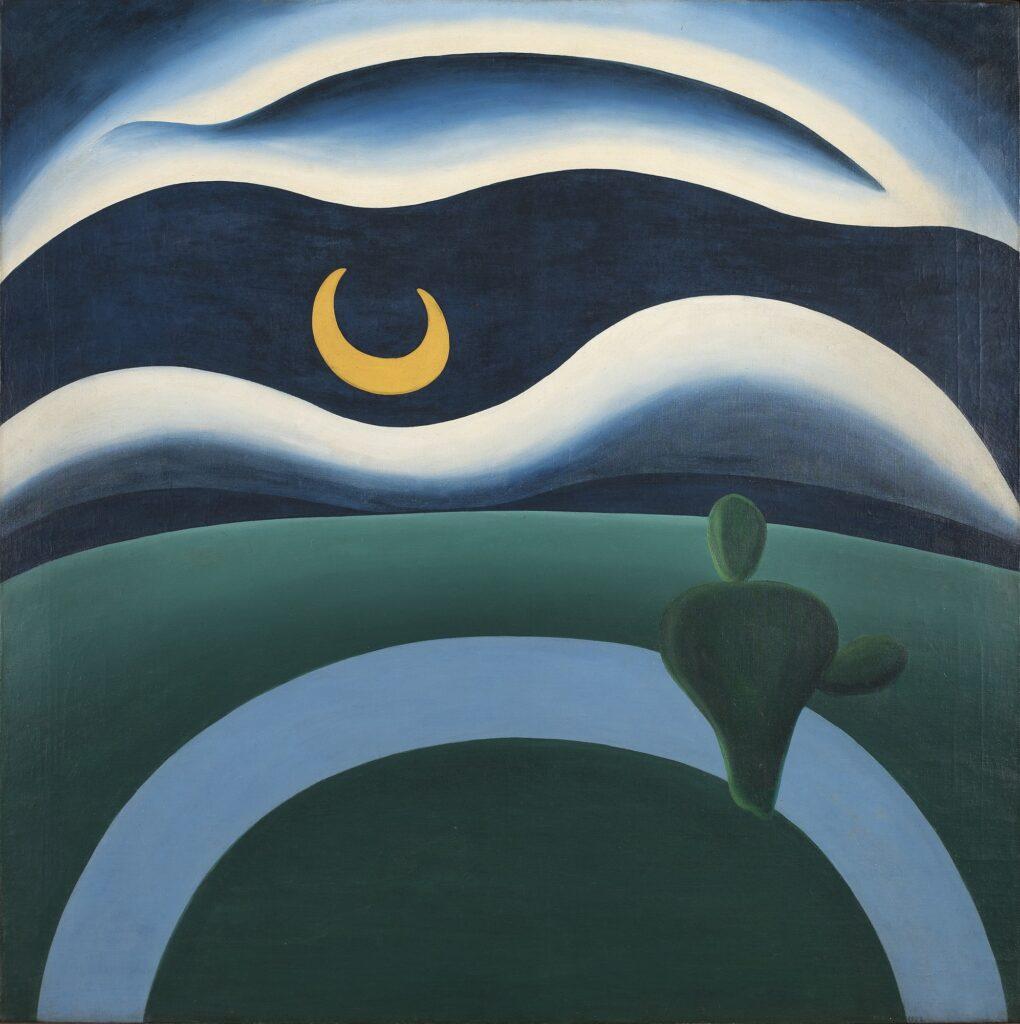 Tarsila do Amaral's The Moon