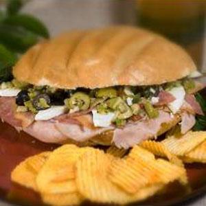 Beckis Muffaletta Sandwich