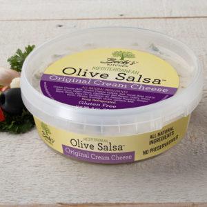 Beckis Original Cream Cheese Mediterranean Olive Salsa