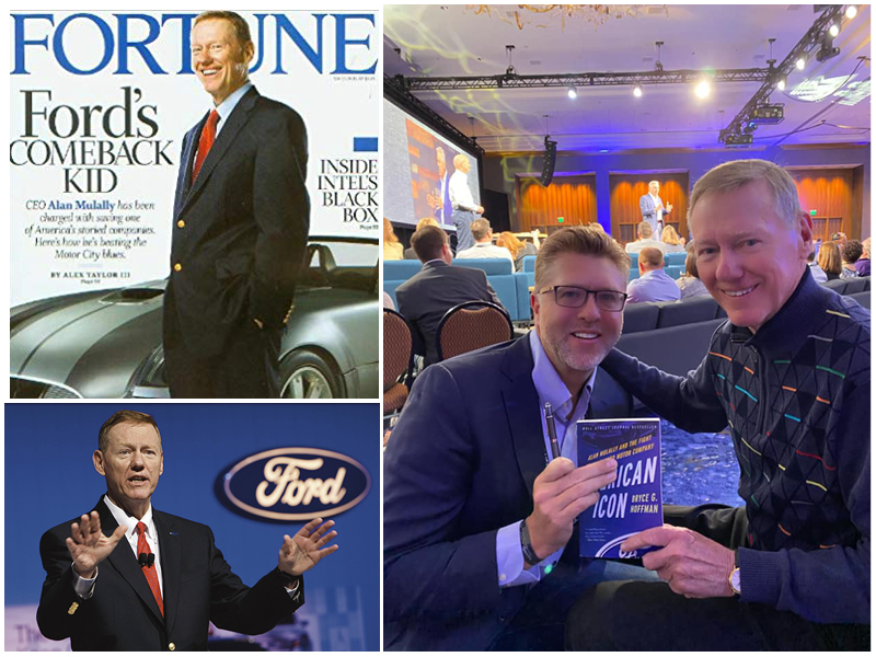 Alan Mulally on Fortune Magazine and Alan Mulally with Dr. Alan Barnard