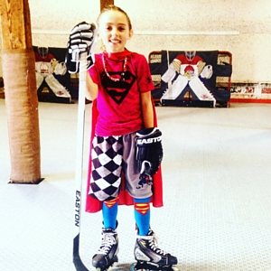 kids come first at farm tough hockey