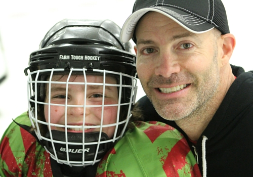peter dale and farm tough hockey player