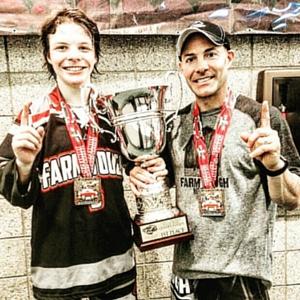 victory with farm tough hockey