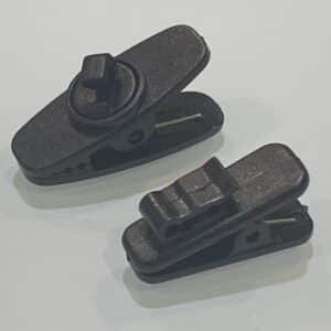 Large and Small Collar Clips