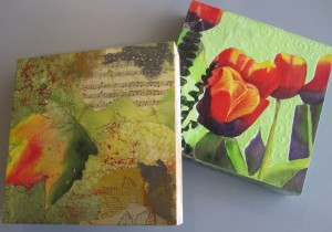 Thinking on the Box–Mixed Media Workshop