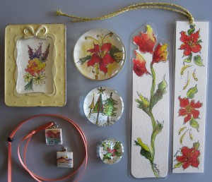 Watercolor Christmas Gifts Workshop