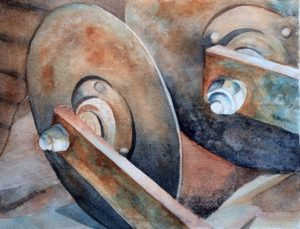 Rust and Corrosion Watercolor Workshop