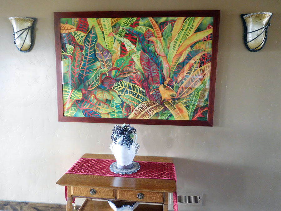 """""""Tropical Paradise"""" in Home Setting"""