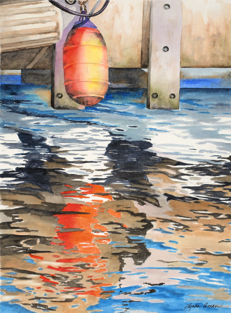 Water Reflections - Original Watercolor