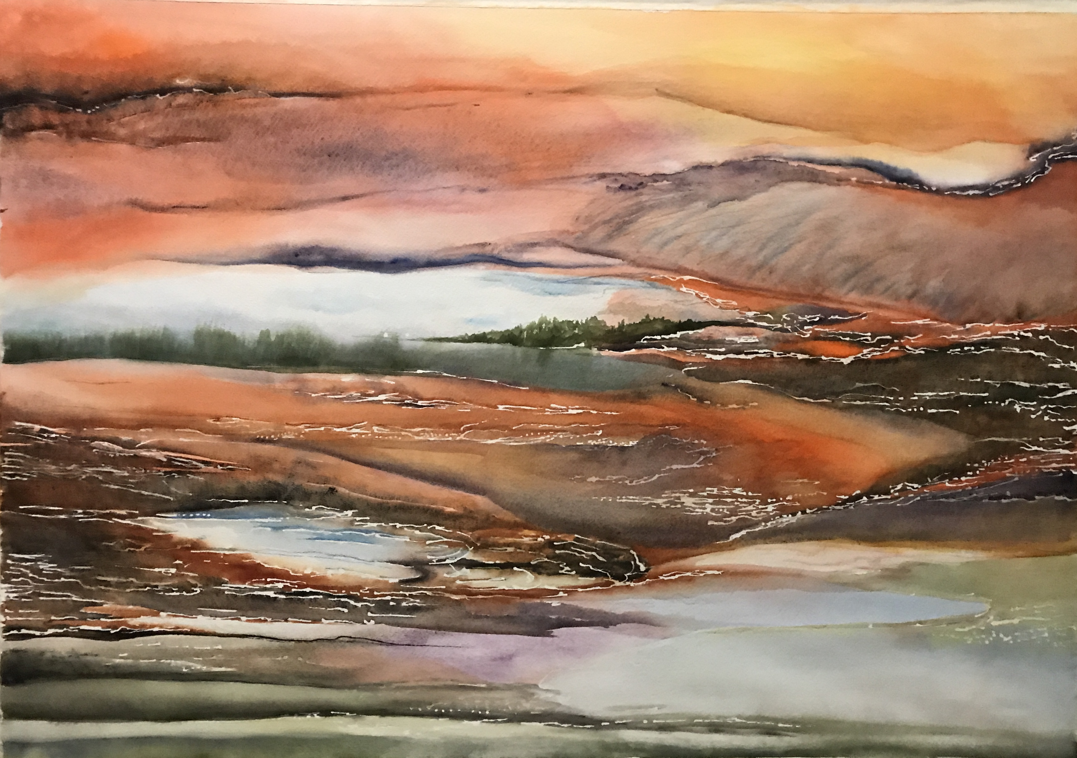 Prismatic Landscape - Fine Art Print - Direction #2