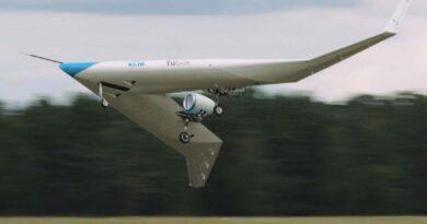 Presentan en Panamá detalles de avión futurista