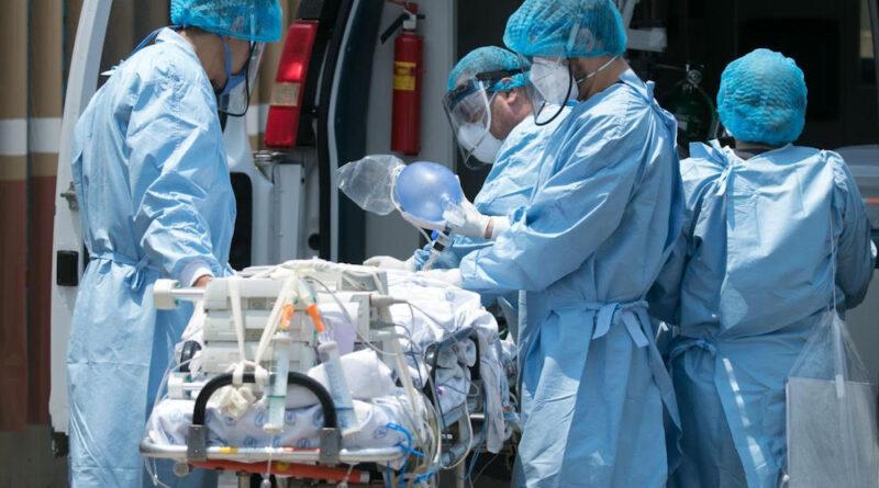 paciente tratado por covid-19