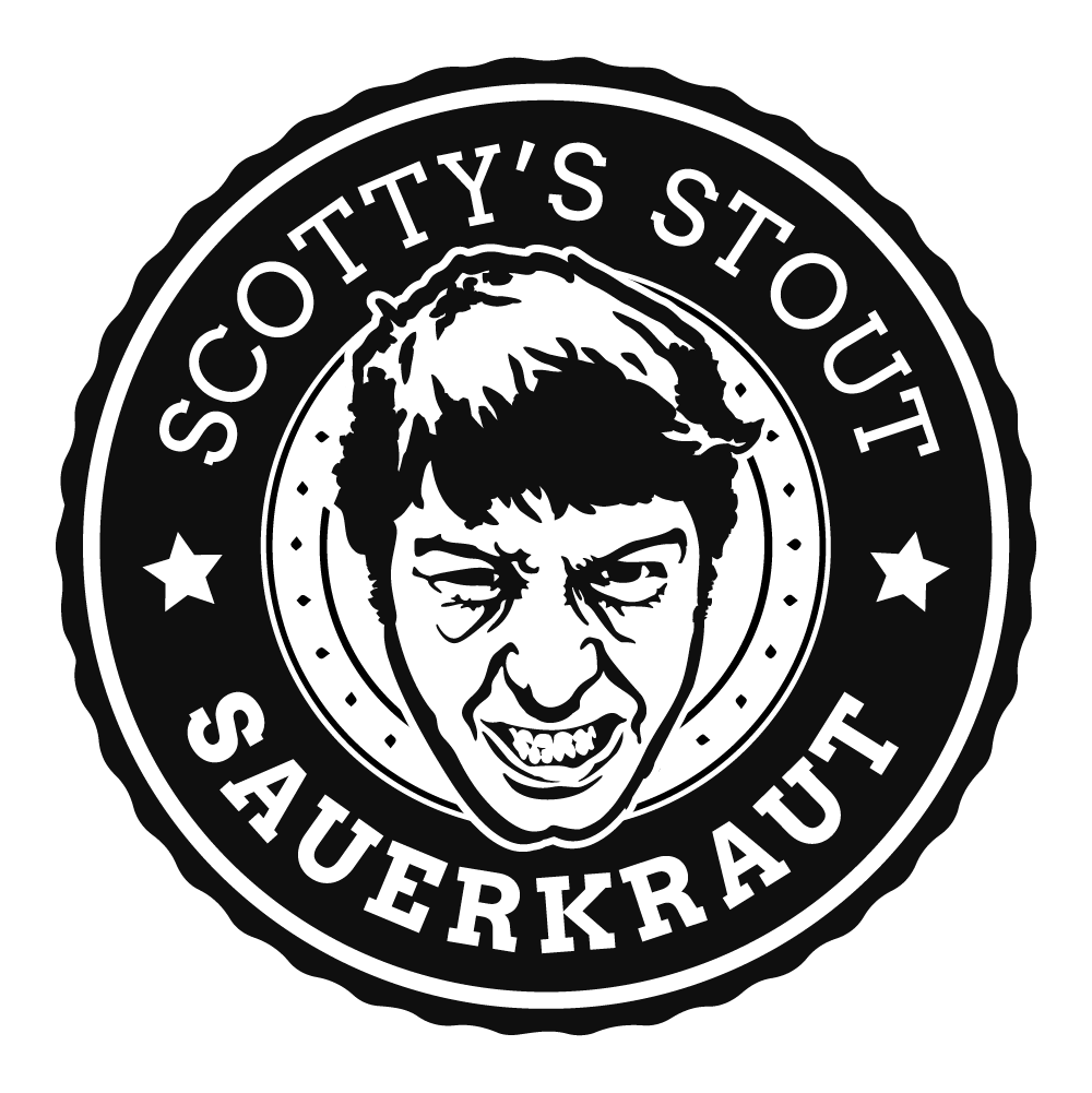 Scotty's Stout Kraut Fermented Foods Logo