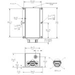 LandMark™005 INS/GPS Outline Drawing