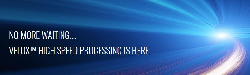 VELOX™ High Speed Processing is the premier processing method from MEMS inertial sensors.