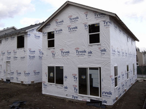 insulating house