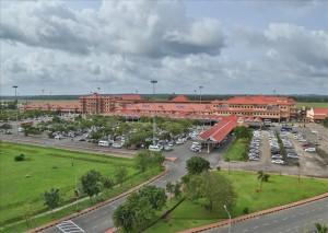 """Cochin international airport terminal"" by Binu jayakrishnan - Own work. Licensed under CC0 via Commons."