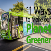 11 Things You Can Do Everyday to Make the Planet Greener
