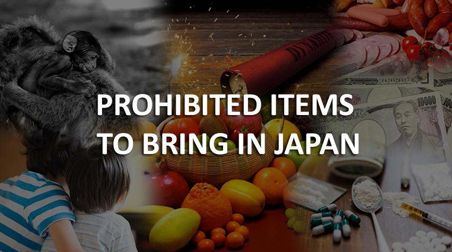 Japan Prohibited Items