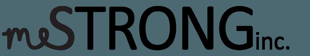 meStrong, inc. Logo