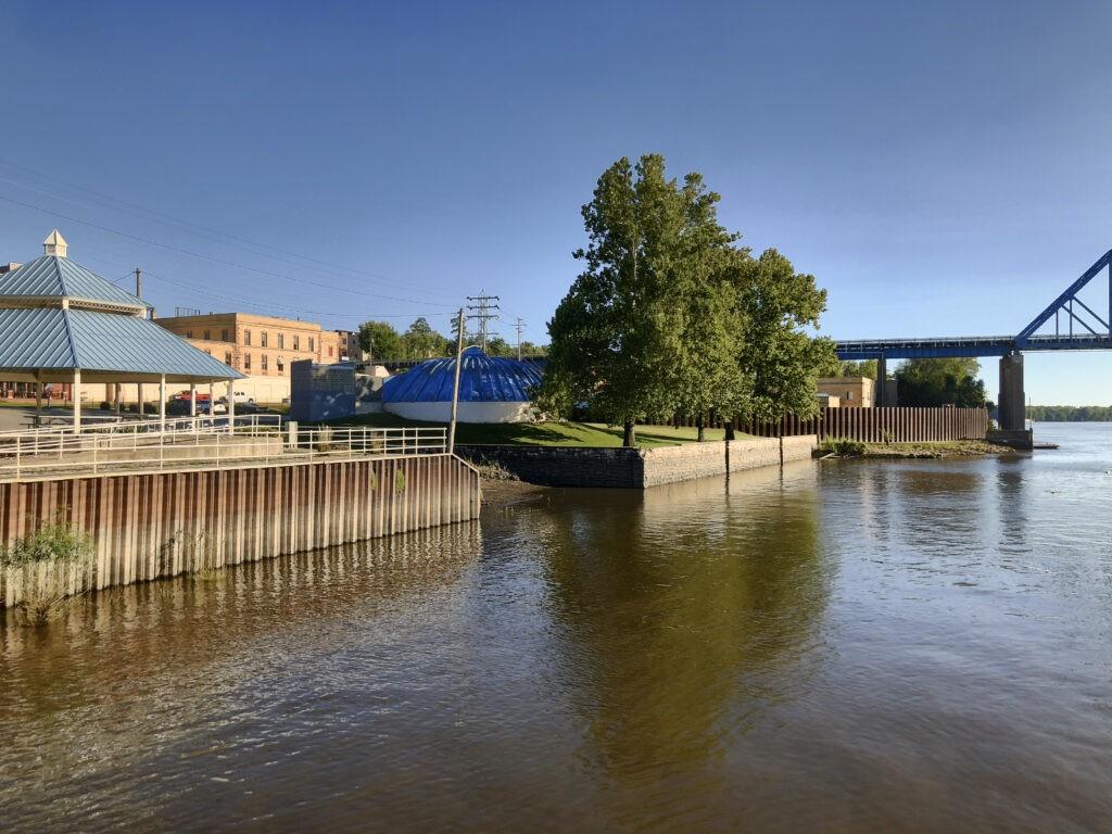 Clat Adams Cicentennial Park - Quincy, IL Riverfront