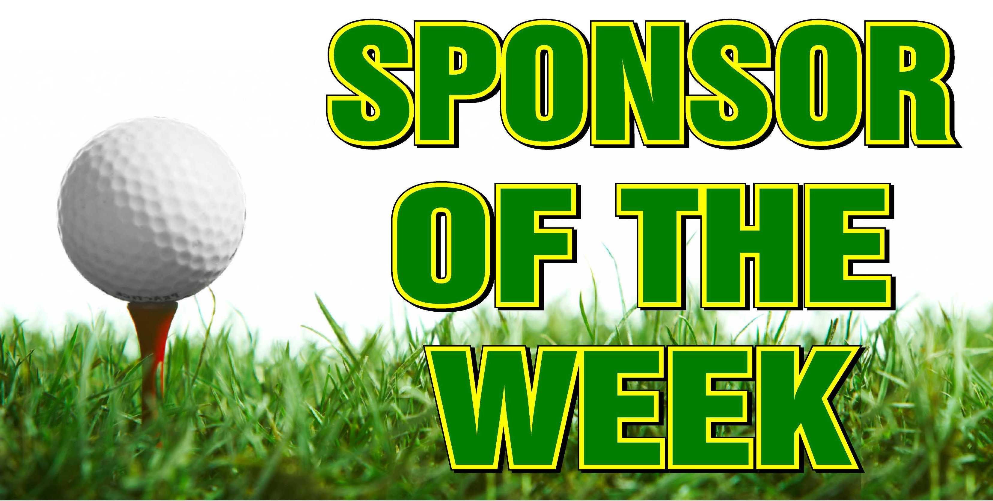 Sponsor of the week banner