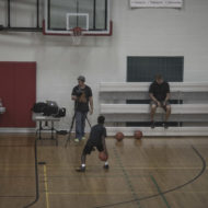Nike Kid Auditioning Wide View