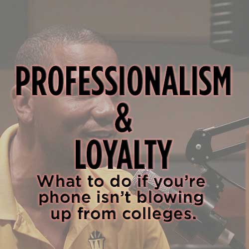 The Real Spill: Professionalism & Loyalty