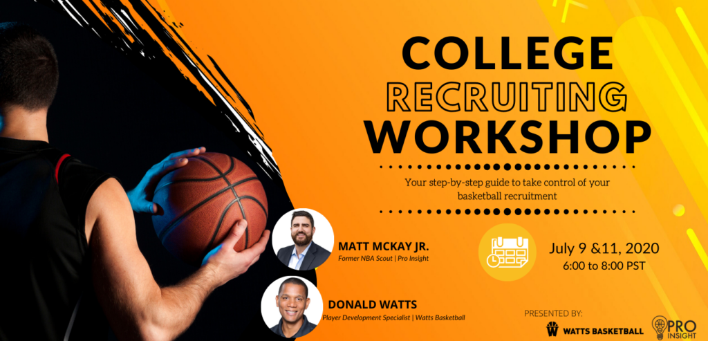 college basketball recruiting workshop