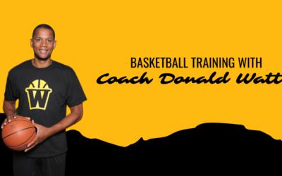 Basketball Training with Coach Donald Watts