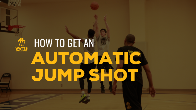 How to Get an Automatic Basketball Jump Shot