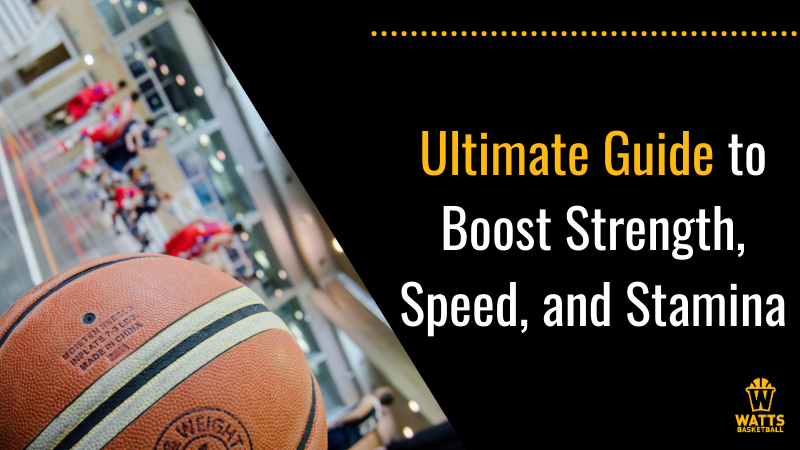Ultimate Guide to Boost Strength, Speed, and Stamina